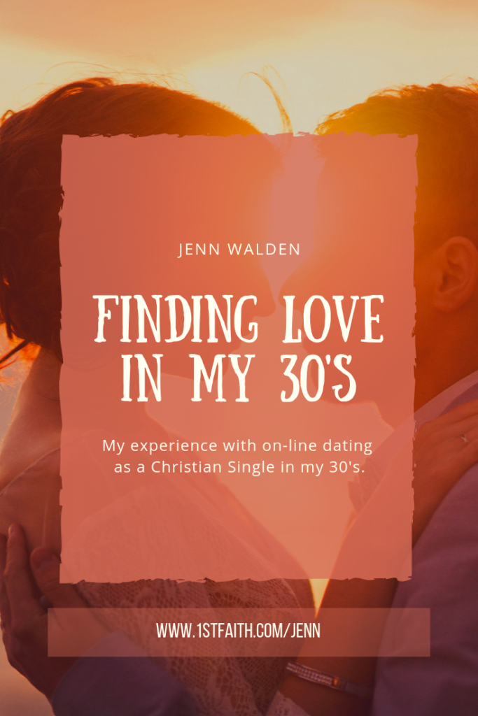 "This is a story about finding meeting my husband through EHarmony, and my experiences with the book, ""I Kissed Dating Goodbye"" by Joshua Harris."