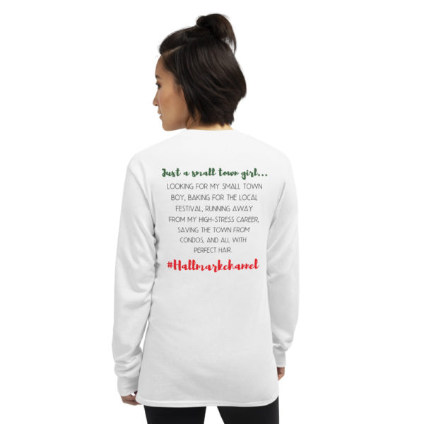 This Hallmark Girl shirt is so cute! If you love Hallmark movies, you need this in your life! Just a small town girl...